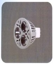 FOCO LED 3 X 1 WATT CONECTOR MR16